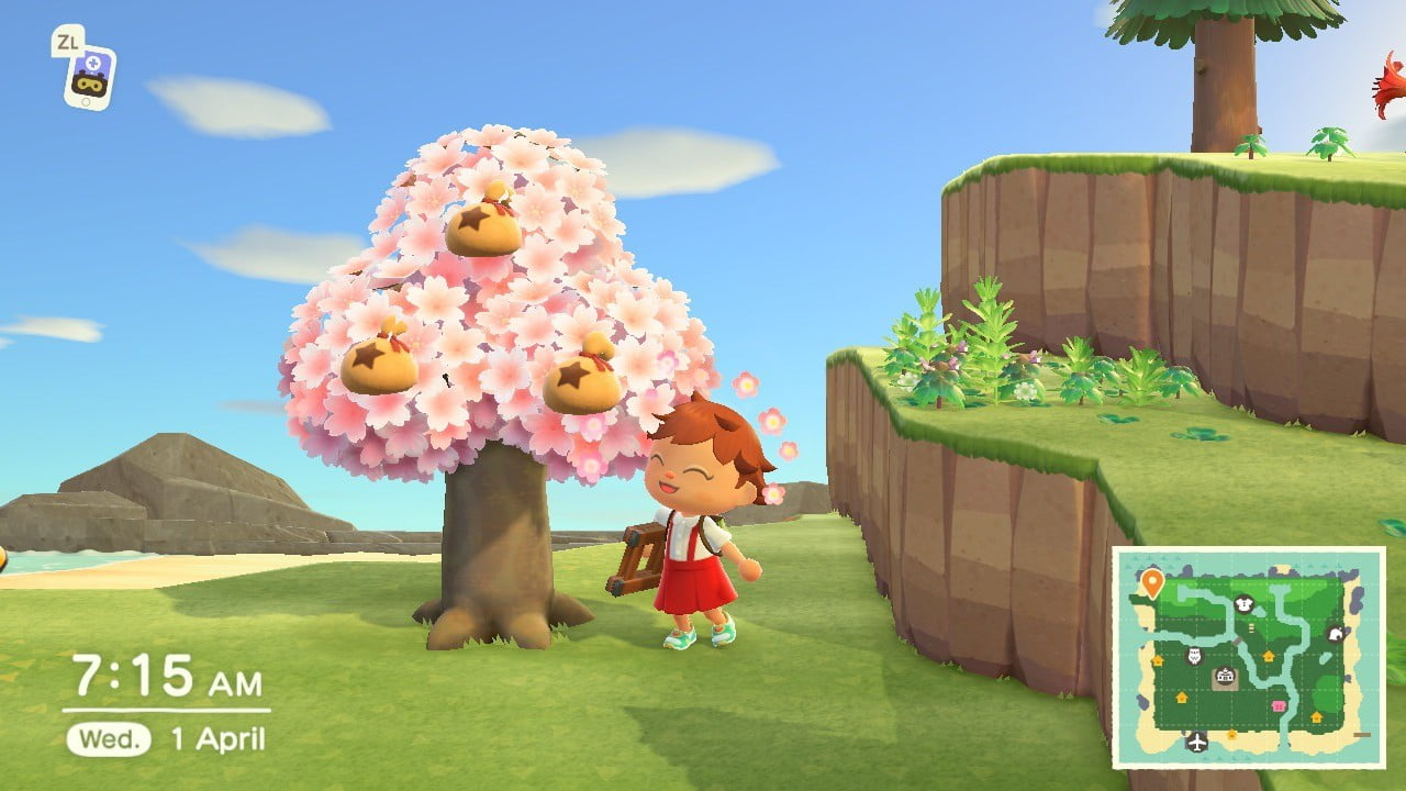 How To Plant A Money Tree In Animal Crossing New Horizons