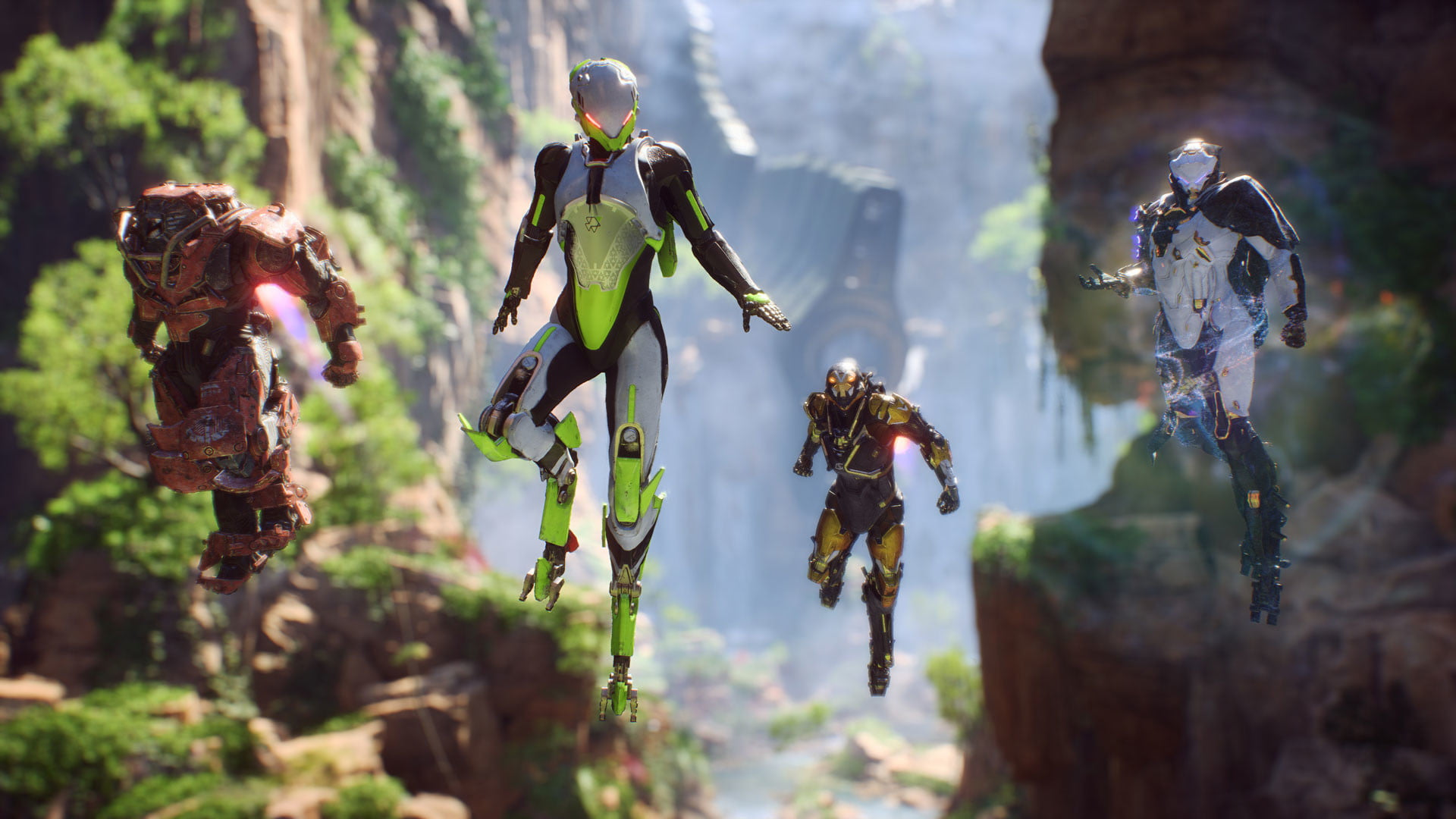 Players Aren't Happy With the Anthem Demo Servers | Digital