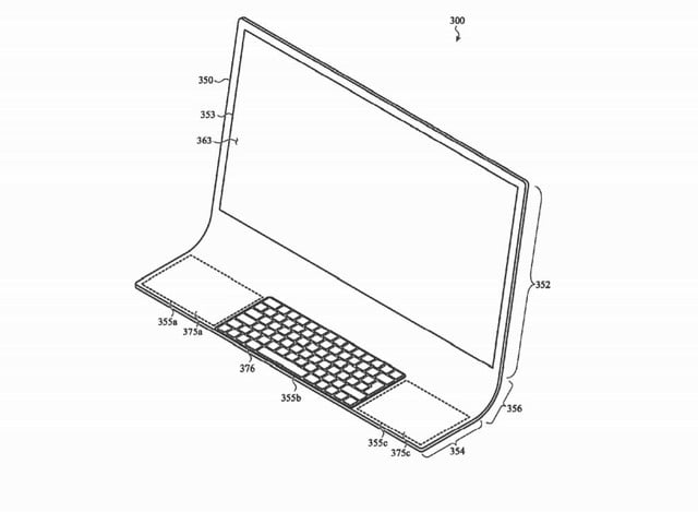 apple imac patent curved glass display 1