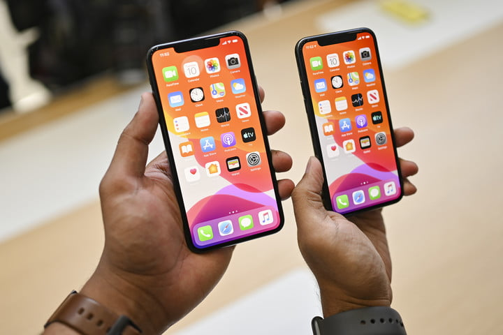 Apple iPhone 11 Pro Max hands-on comparison with Pro