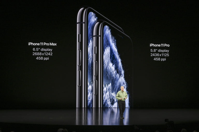 iPhone 11 Pro and Pro Max display sizes and features | Apple September 2019 Event Keynote