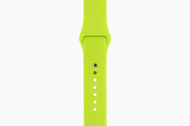 apple watch bands hermes product red news sport band green 201509