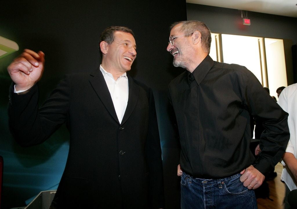 Bob Iger says Disney and Apple would have merged if Steve Jobs was still alive
