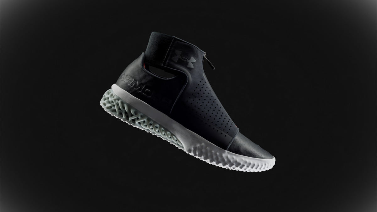Under Armour upgrades its 3D-printed shoe with ArchiTech Futurist
