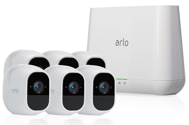 amazon drops prices on arlo pro 2 outside security camera kits wireless home system  6 kit