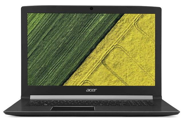 acer introduces new pcs at next event aspire 7 straight on