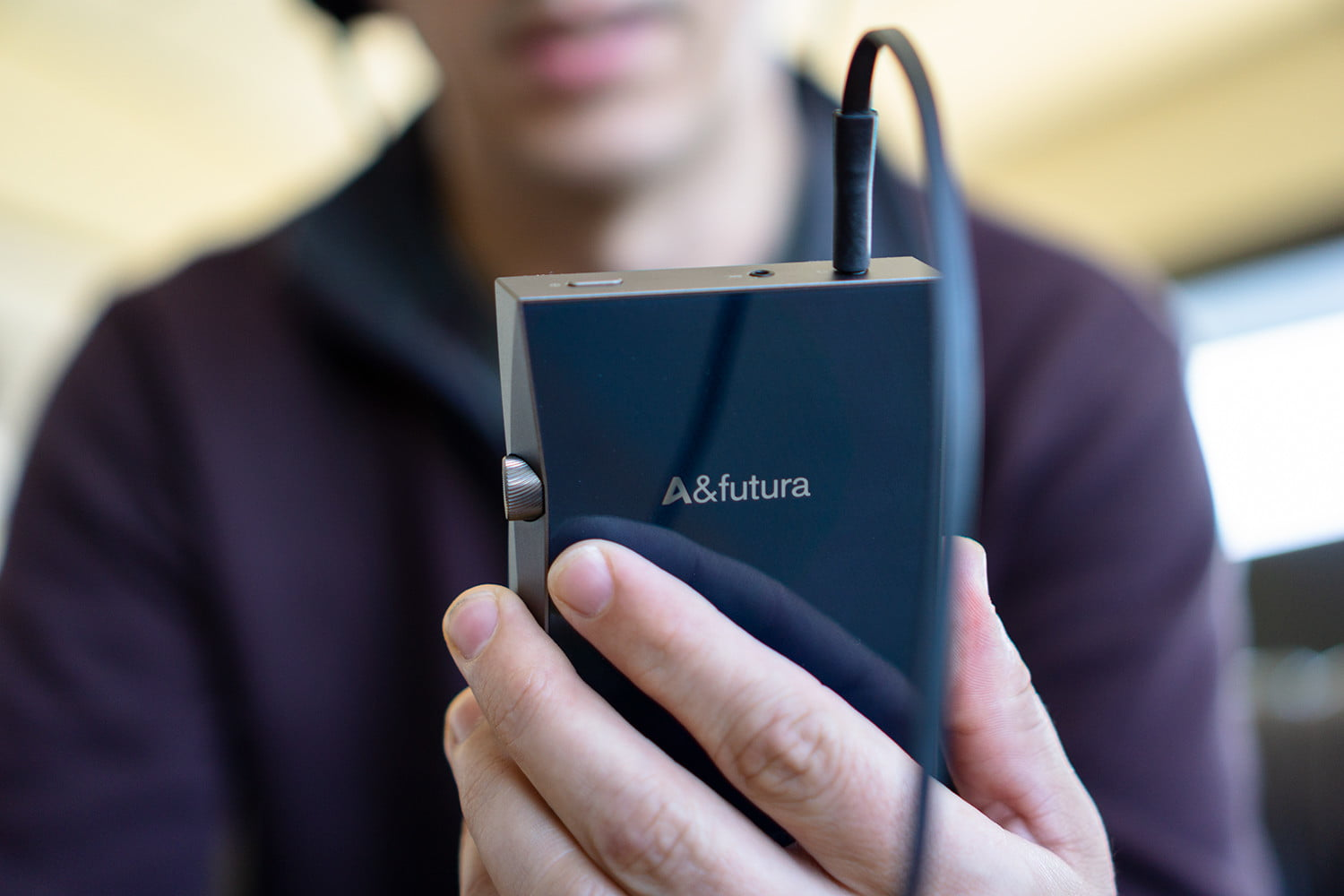 Astell & Kern's new A&futura SE100 hi-res player looks funny, sounds fantastic