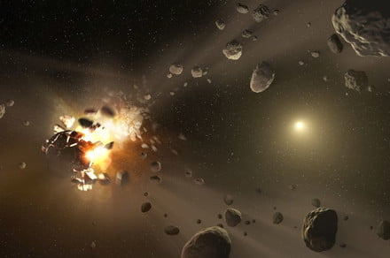Kyoto fireball was caused by a chunk falling off potentially hazardous asteroid