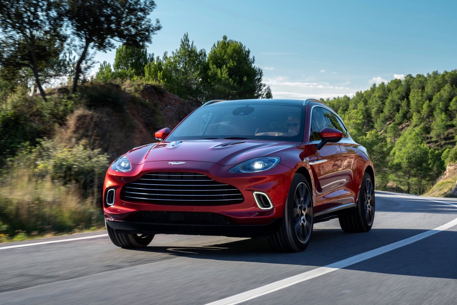 2021 Aston Martin DBX is perfect for a 00 agent with a family