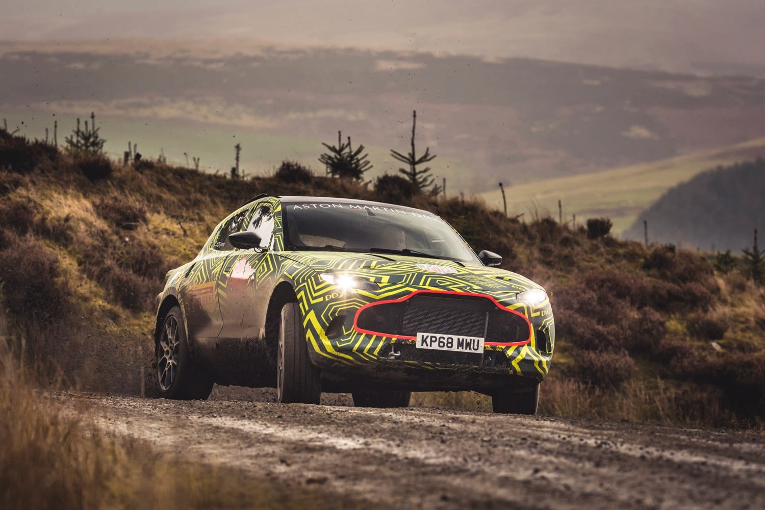 The DBX SUV will go where no Aston Martin has gone before