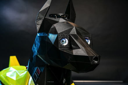Astro the dog-inspired quadruped robot can sit, lie down, and… learn?