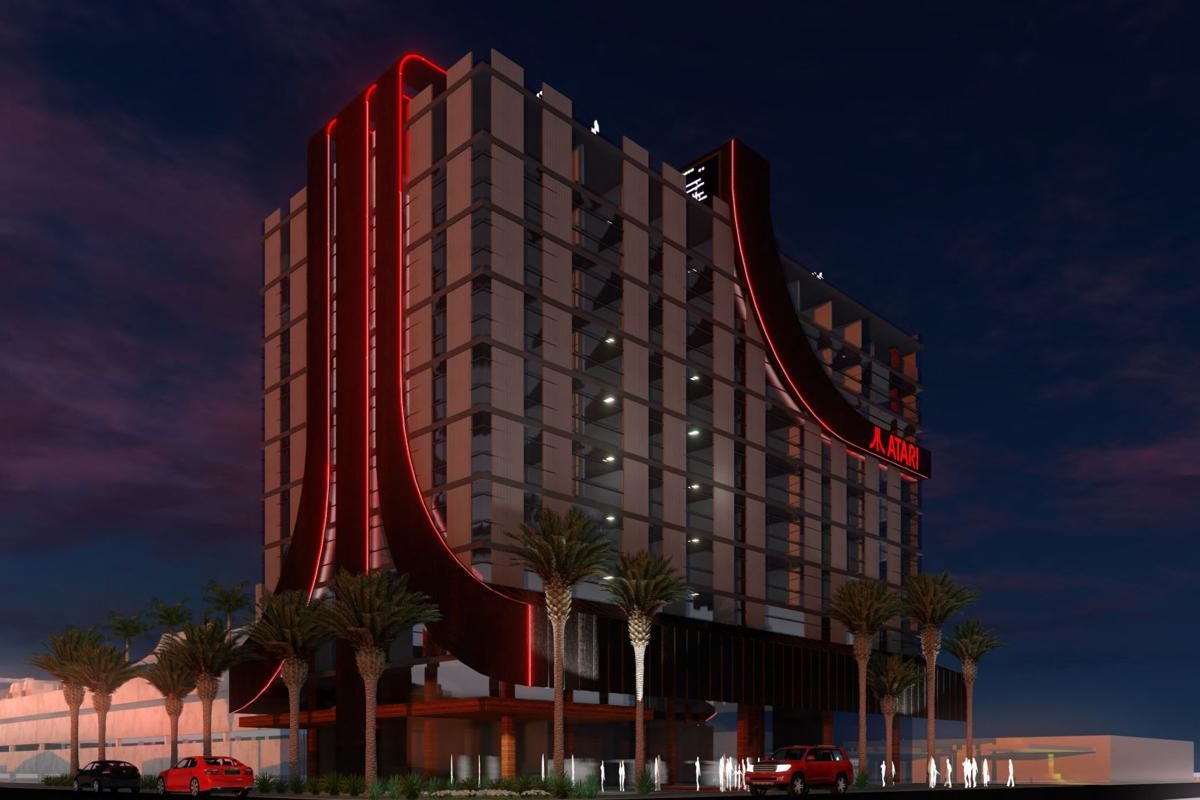 Atari-themed gaming hotels heading to Las Vegas and 7 other U.S. cities