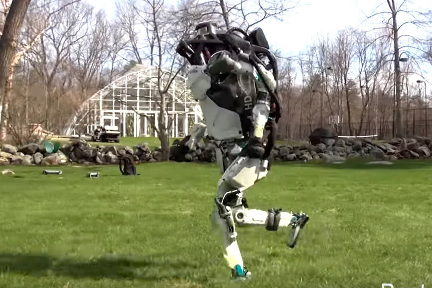 Scared yet? Boston Dynamics' humanoid robot can now jog freely
