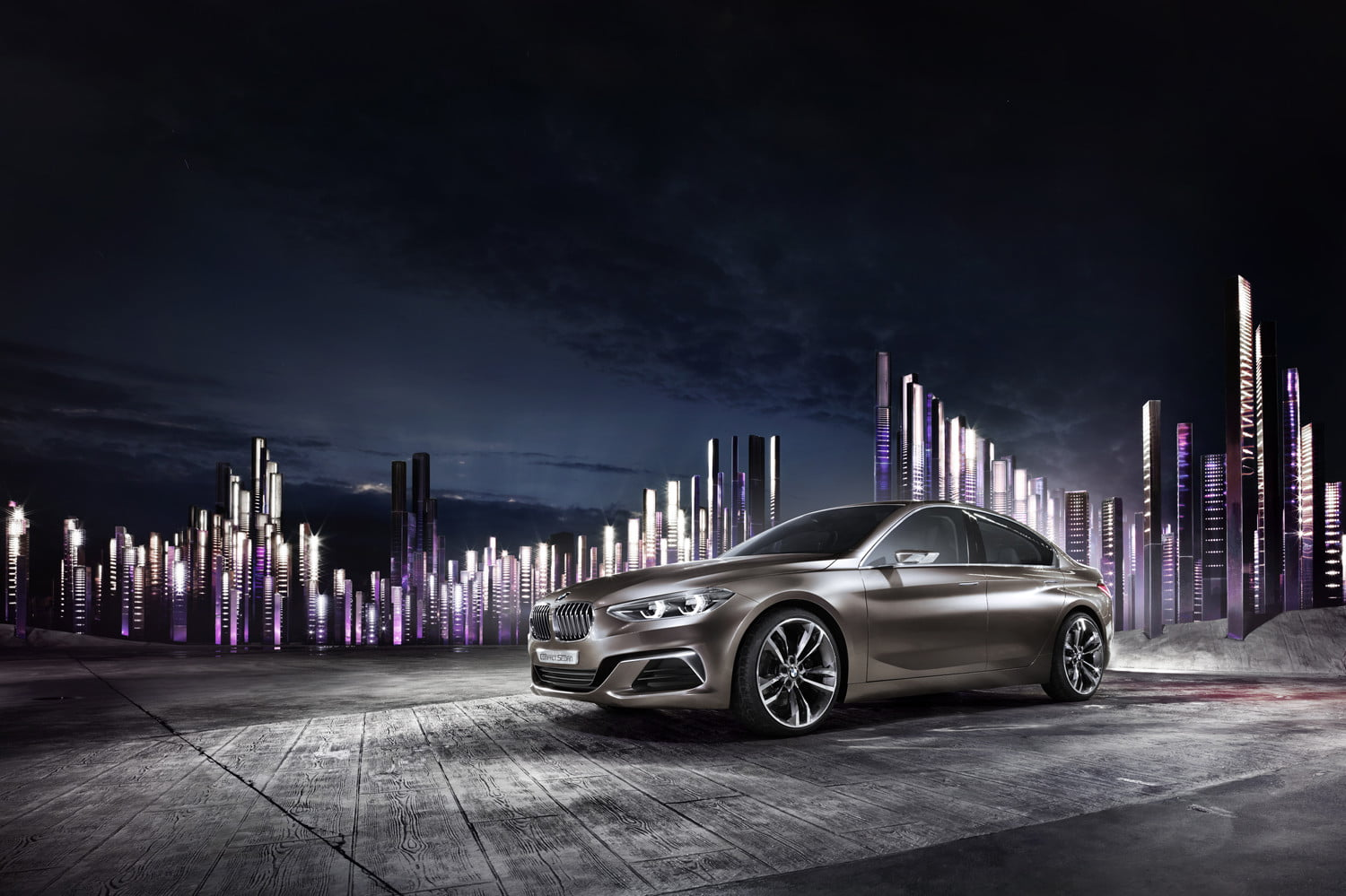 A mini BMW 3 Series is right around the corner … if you live in China