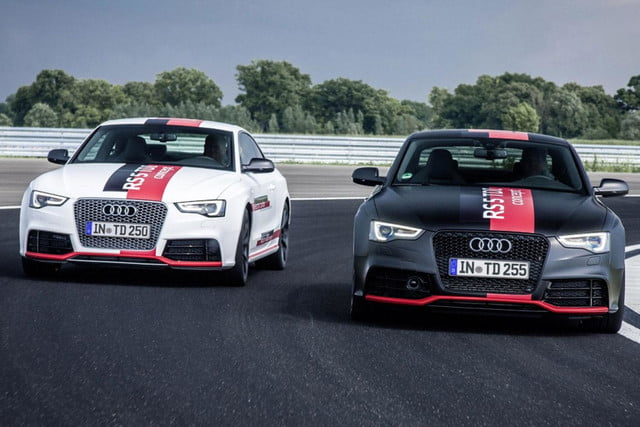 audis rs5 tdi concept uses electronic turbocharger developed le mans audi  press white and black