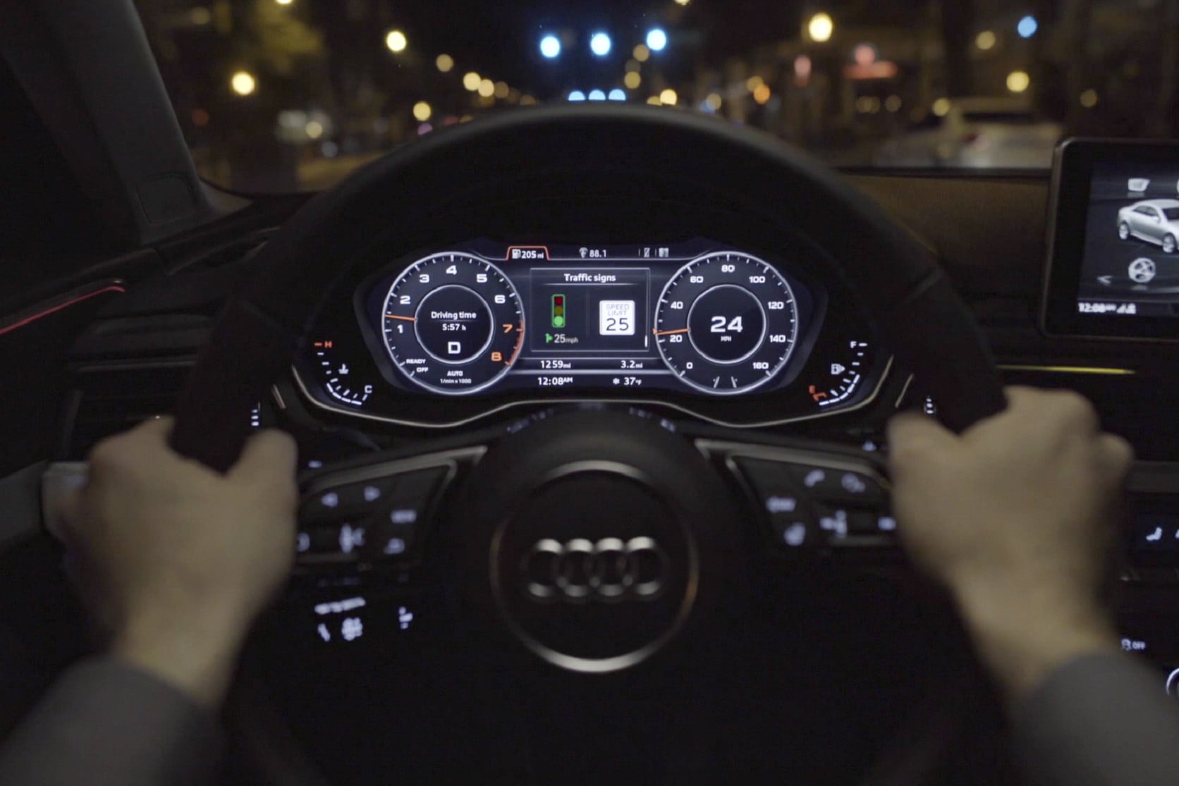 Audi Q8 will warn drivers when there are construction workers on the highway