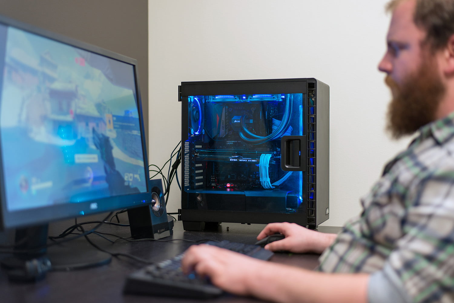 High-refresh rate gaming PC build for under $1,000