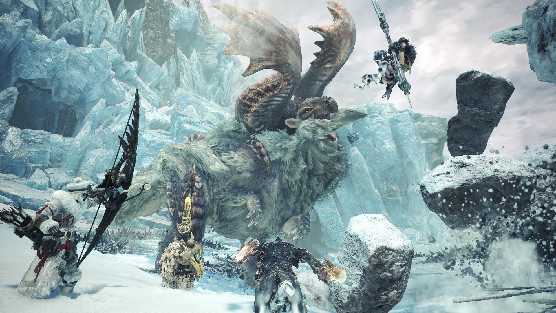 Monster Hunter World Iceborne Brings Hot Drinks And Cool New Features