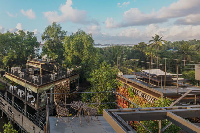 the bangkok tree house hotel lets guests sleep under stars resort 16