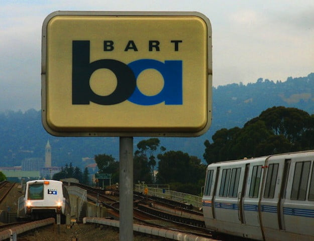 San Francisco's BART to Go 100 Percent Green Within the Next Few Decades