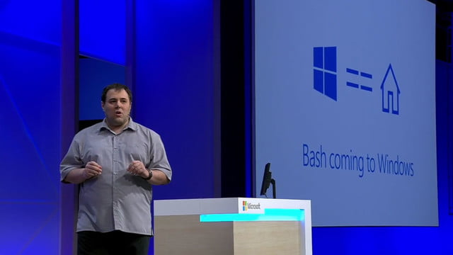 bash shell windows 10 is coming to