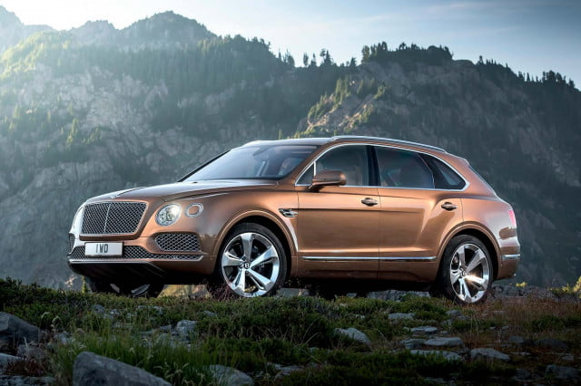 the top 10 best cars from frankfurt motor show bentley bentayga front three quarter static 2 1500x1000