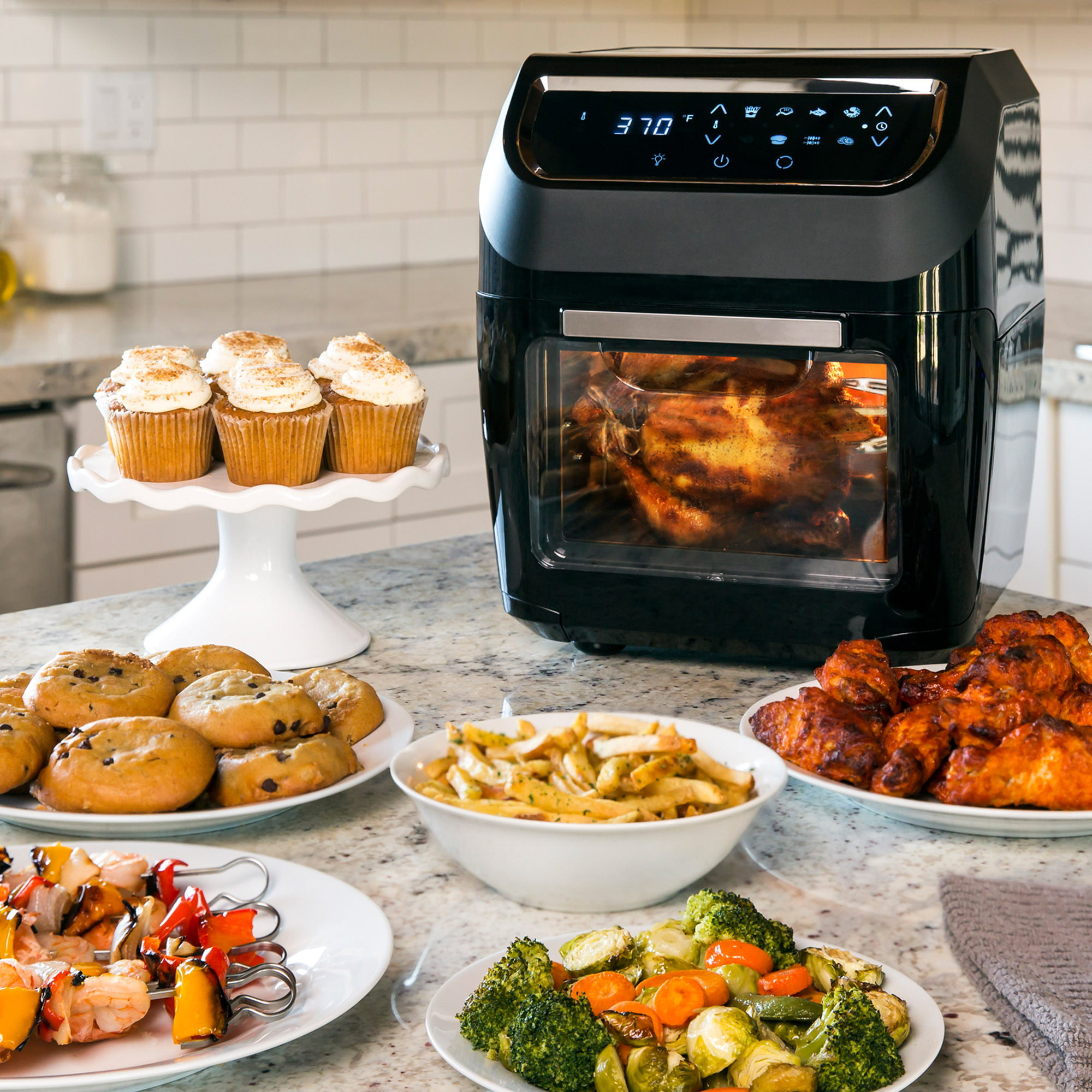 Walmart drops prices on air fryers from Emeril, Farberware, La Gourmet, and more
