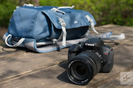 Save $100 on this Canon EOS Rebel T7 DSLR Camera Bundle for Black Friday