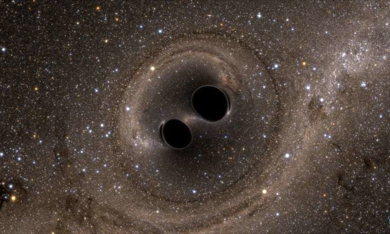 Baby black holes chirp as they're born, just as Einstein predicted