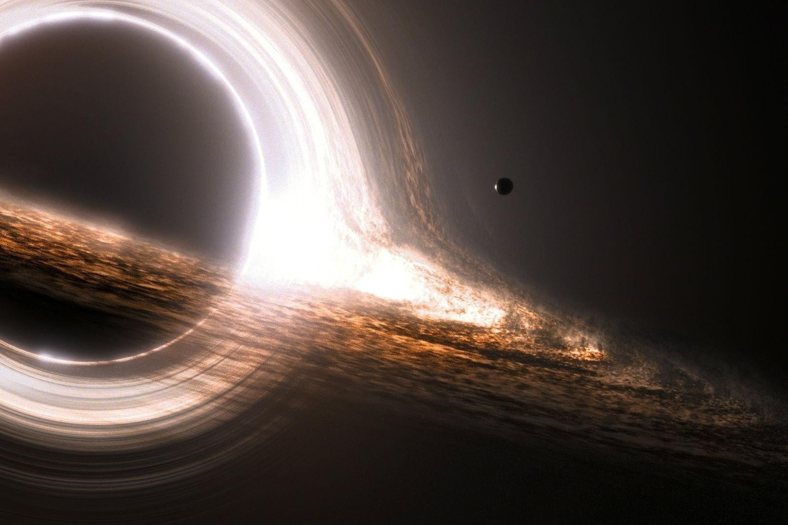 Astronomers just snapped photos of the most massive black hole we've ever observed