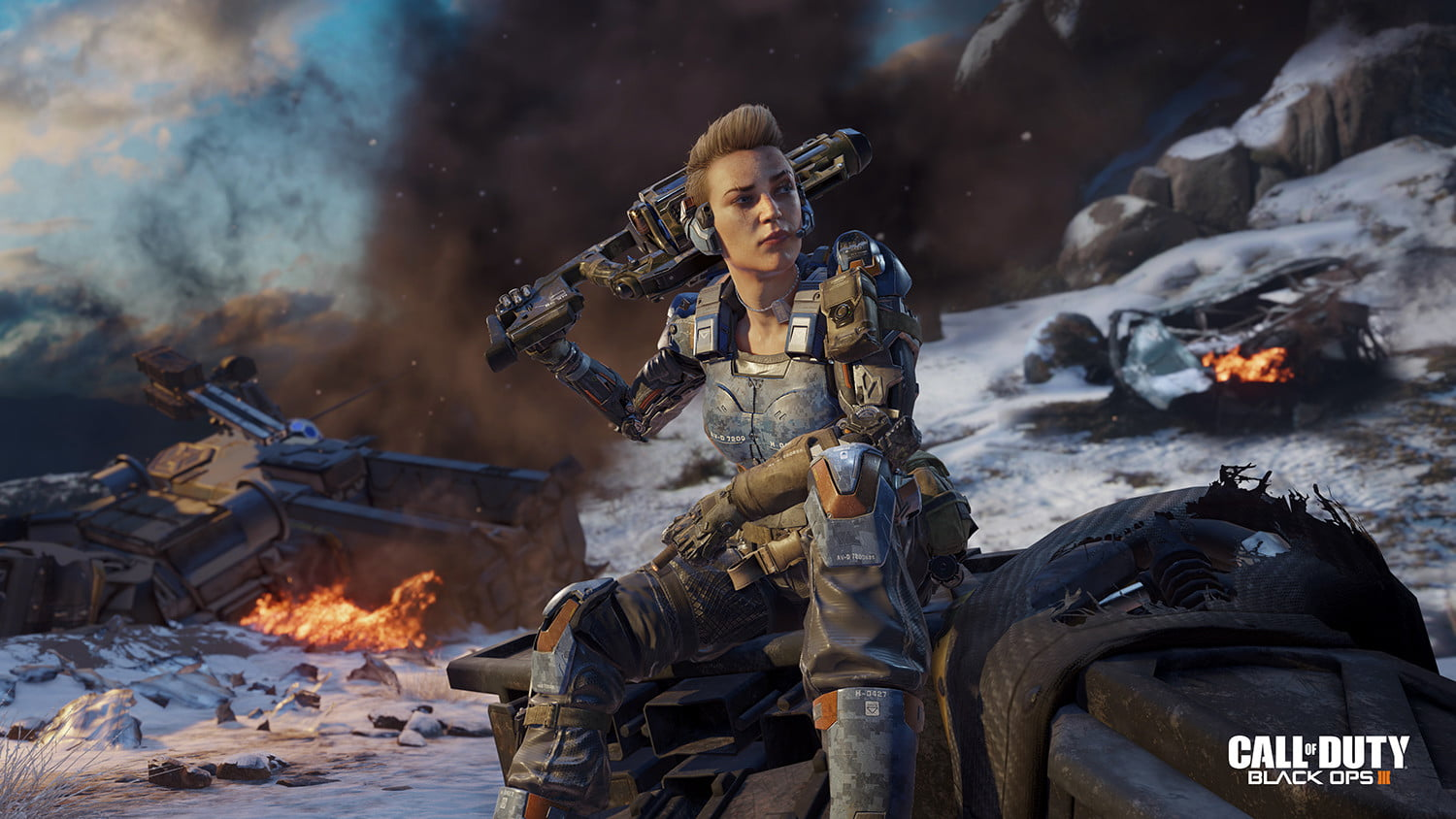 First Female Playable Character In Call Of Duty Black Ops 3