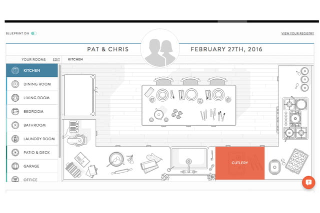 blueprint registry lets you find wedding gifts room by