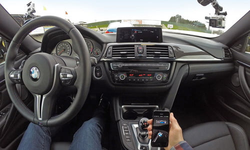 BMW ConnectedDrive and GoPro App announce iDrive integration
