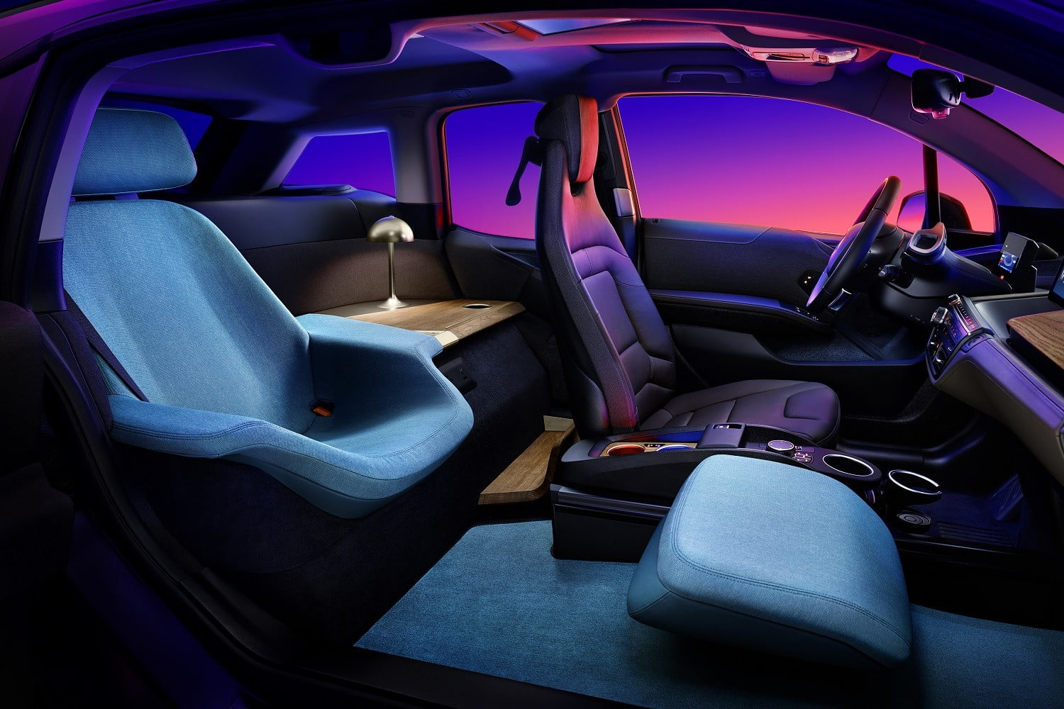At CES 2020, BMW will make sleeping in a city car sound attractive