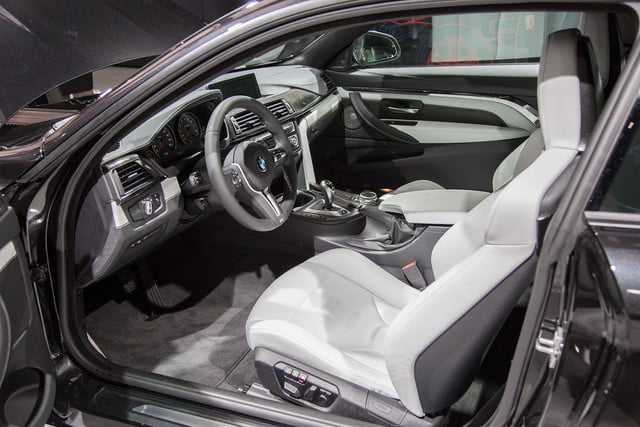 king back inline six bmw debuts new m3 m4 interior drivers