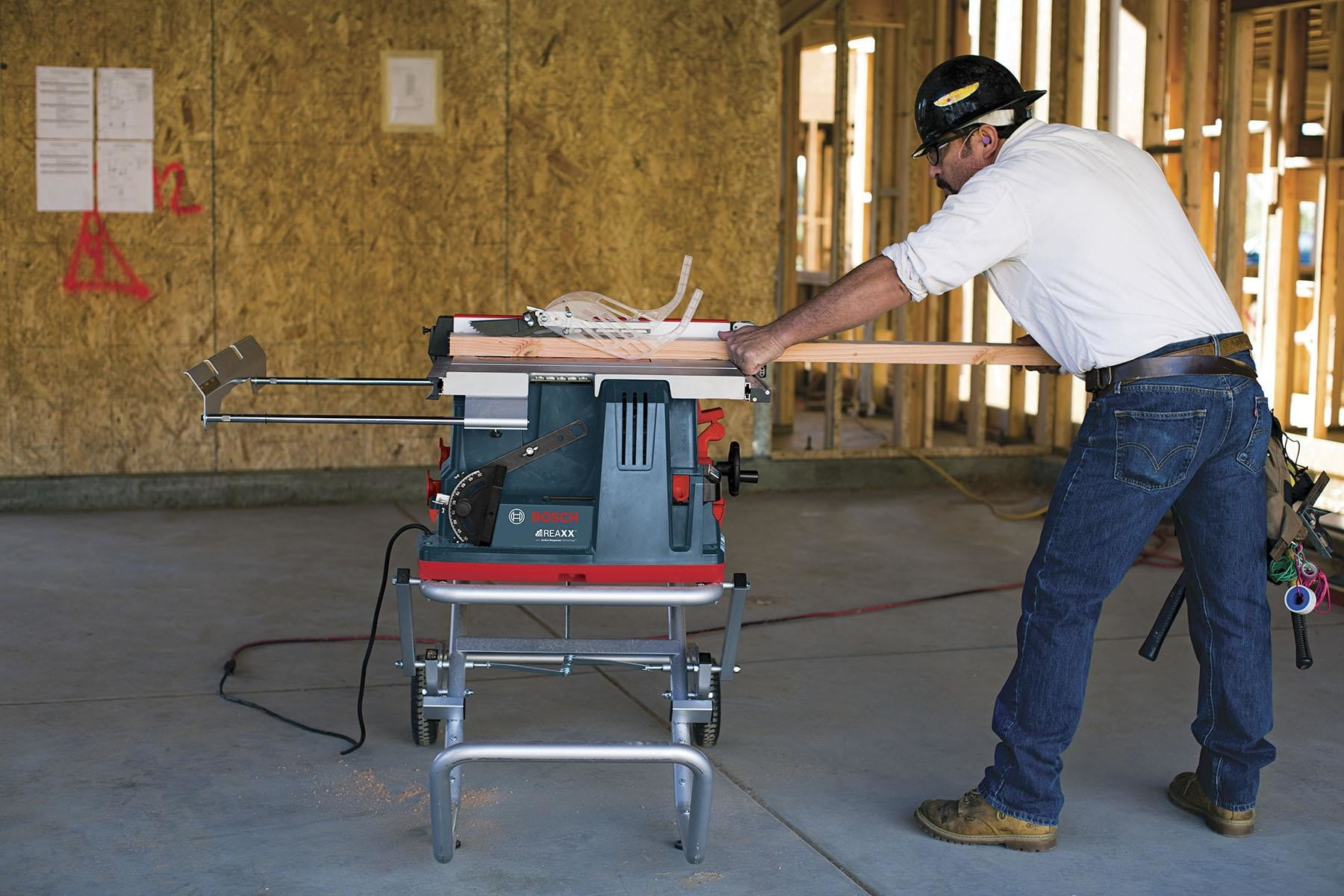 Bosch's new finger-sensing table saw uses small explosives to prevent cutting injuries