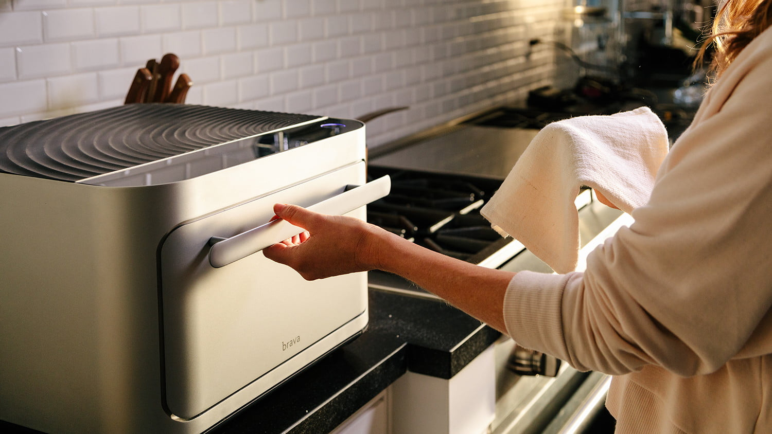The Brava Oven uses light – and seemingly magic – to cook. It changes everything.