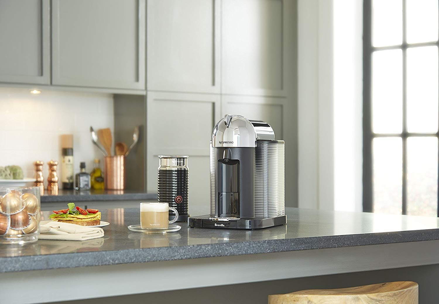 Amazon sweetens up this Breville Nespresso machine bundle with a $105 discount