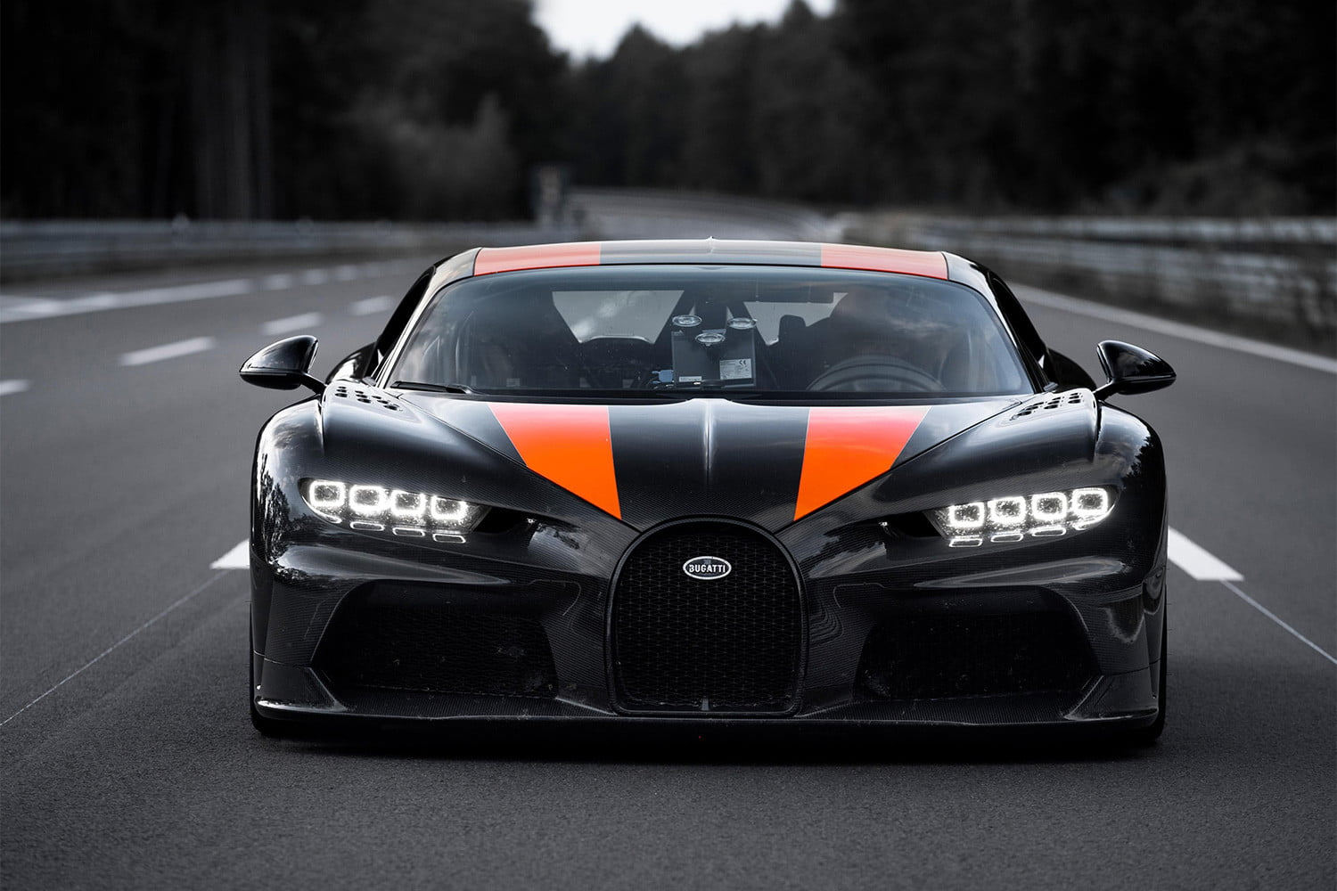 How do you get a Bugatti to 304 mph? Grit, really good tires, and a lot of tech