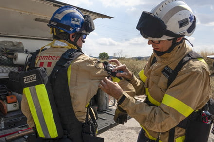 IBM contest winners answer call by developing lifesaving tech for firefighters
