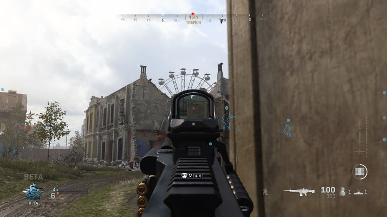 Modern Warfare Beta LMG