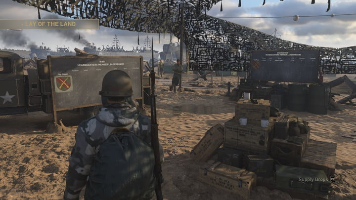 Call of Duty: WW2 Headquarters Guide -- Social space