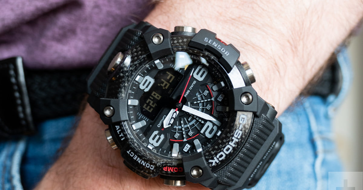 The Carbon Cased G Shock Mudmaster Watch is Still as Extreme