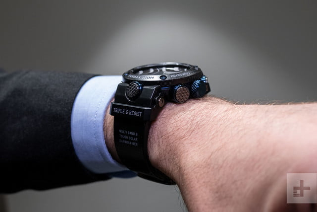 Carbon Fiber is Making Casio's New Connected G-Shocks Even