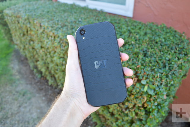 CAT S41 review back angle full