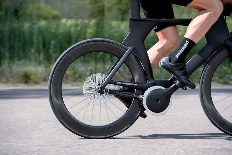 This prototype chainless bike suggests the future of cycling could be ceramic
