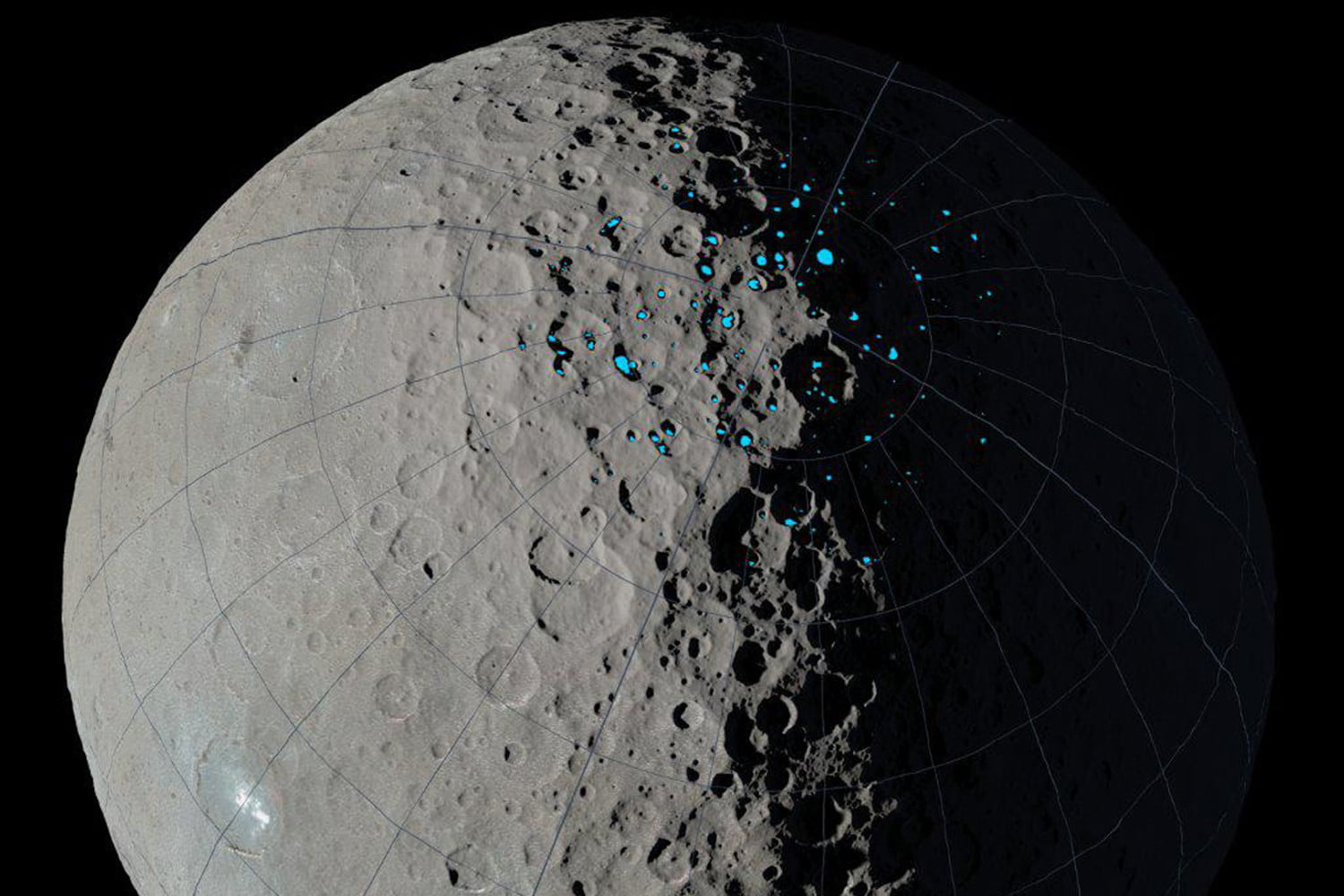 Origin of ice on the Moon may be explained by this dwarf planet's 'darkest secret'