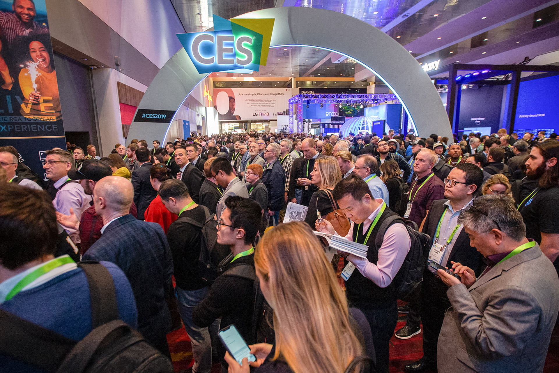 CES: Tech for Change - Titel