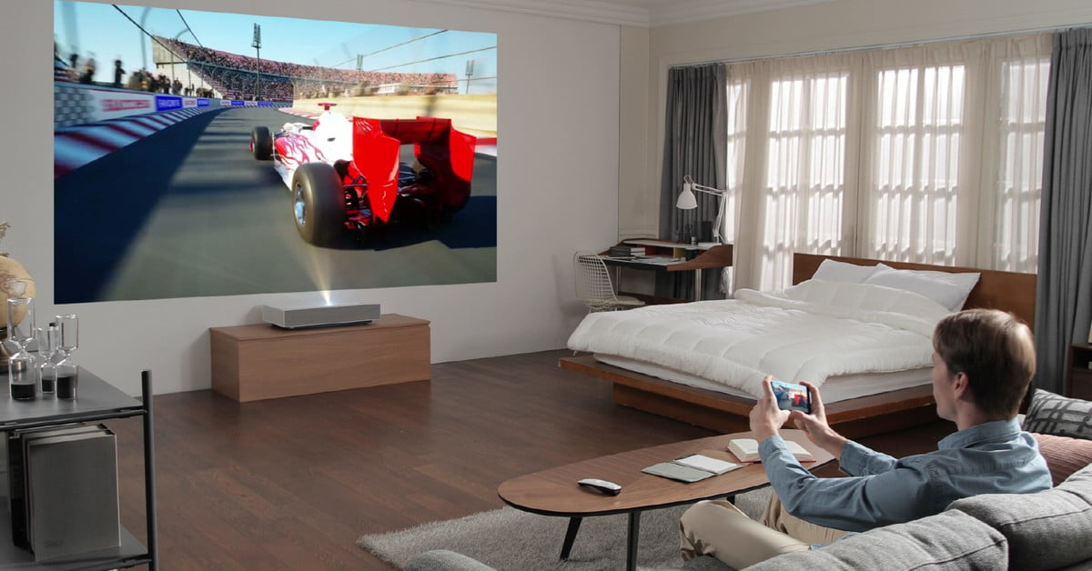 LG Cineabeam Projector Can Make 90-Inch Screen From 2 Inches Away