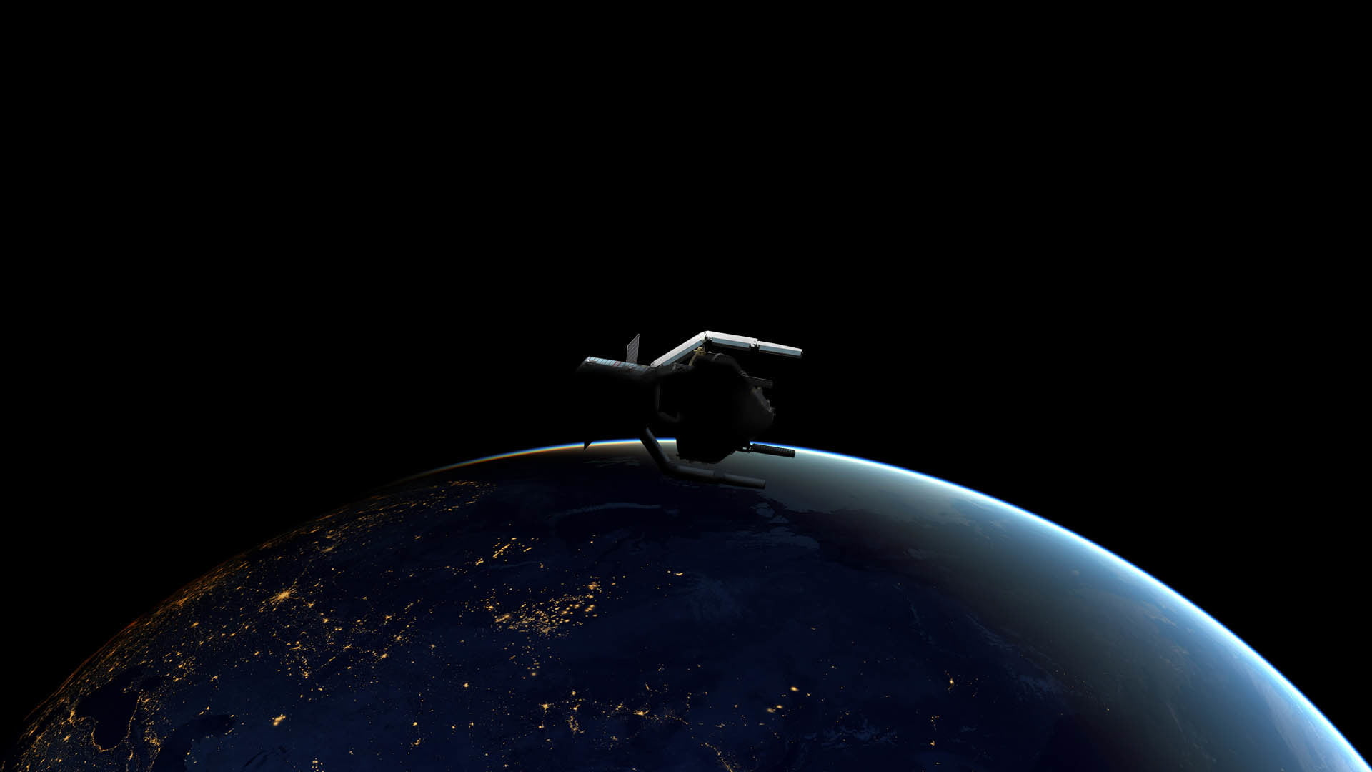 European Space Agency will launch a four-armed spacecraft to grab space debris